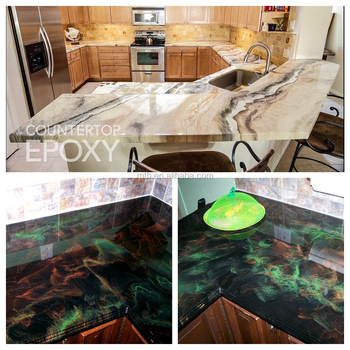 Metallic Countertop Epoxy - Buy Epoxy Countertop Coating,Metallic Epoxy  Kitchen Countertop Coating,Decorative Epoxy Concrete Countertop Coating ...