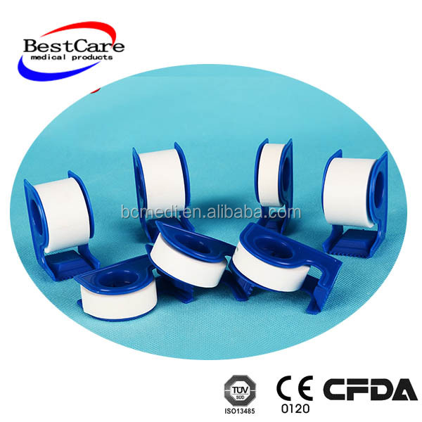 Hypoallergenic adhesive tape Medical non-woven Tape Surgical Non-woven Adhesive Tape with Dispanser