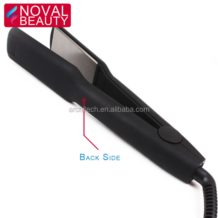 Flat irons wholesale hair straightener flat iron Private label flat iron with black color