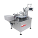 Roll-on glass bottles filling inserting roller capping machine fully automatic perfume oil fragrance filler capper line