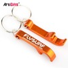 Keyring Maker Cheap Customized Blank Metal Aluminum Beer Wine Bottle Opener