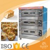 CE Approved Trade Assurance Cake Small Bakery Machine Electric Bread Baking Oven