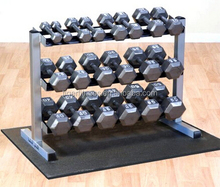 Hitam 10 kg hex <span class=keywords><strong>dumbbell</strong></span> <span class=keywords><strong>set</strong></span>