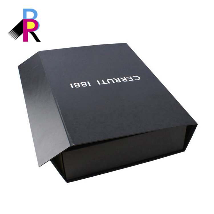 Cheap custom matt black paper packaging corrugated box for mailing