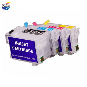 Ocinkjet Empty Refillable Ink Cartridge With Chip For Epson Stylus NX625 Workforce 635 7010 Printer