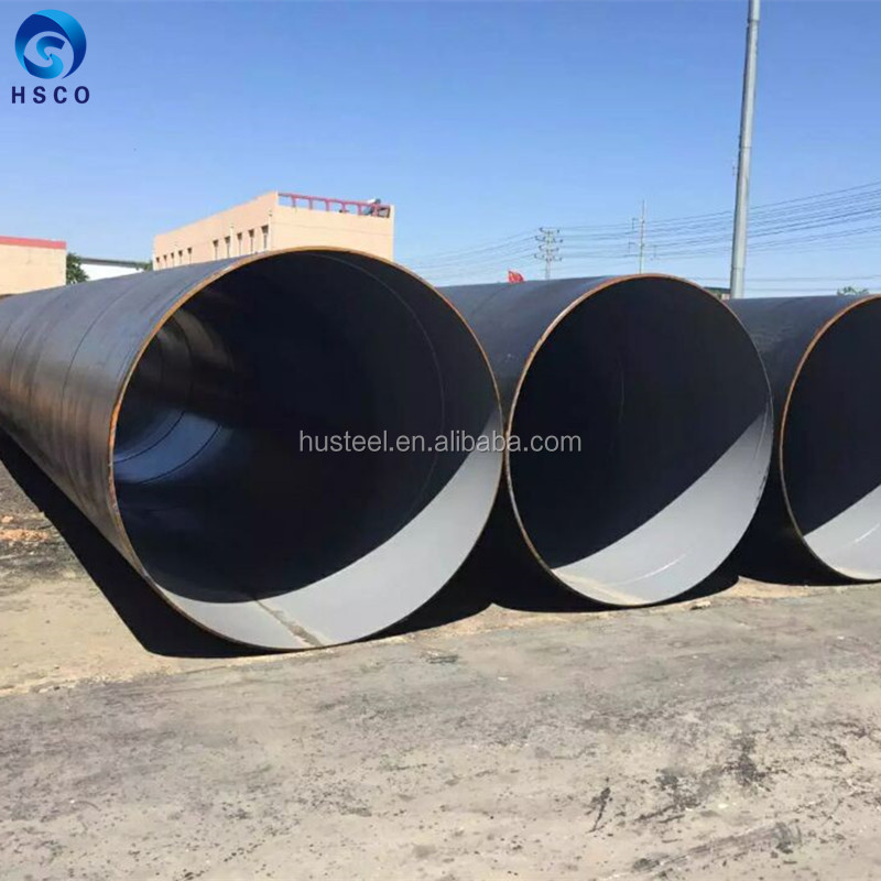 Welded carbon steel pipe/large diameter 219-2420mm spiral steelpipe in stock/ssaw steel pipe Spiral submerged arc welded steel p