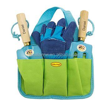 Personalised Childu0027s Gardening Tools Kit