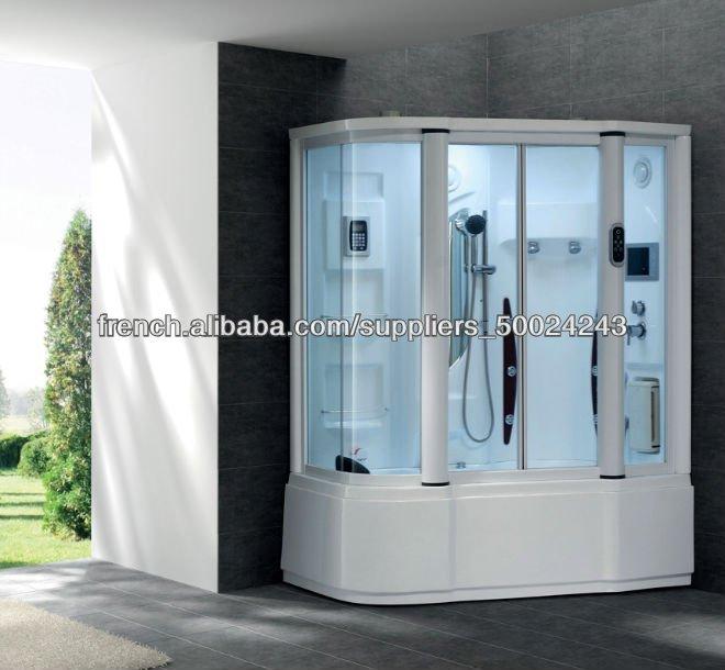 hot vente cabine de douche cabine de douche avec baignoire jacuzzi ...