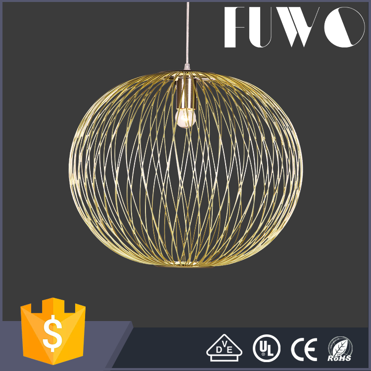Modern lighting europe style metal lamp chandelier decorative hanging pendant light