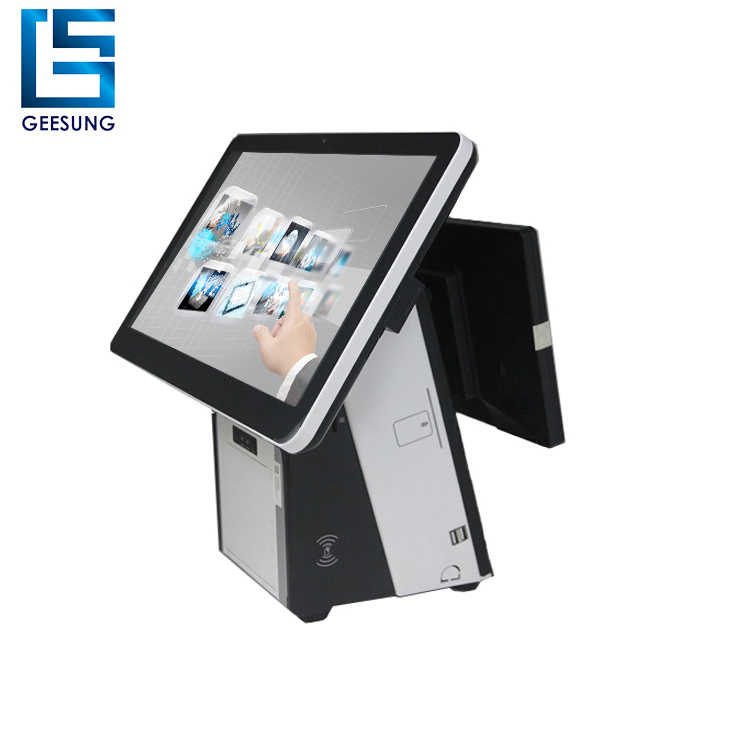 Cover Price Wholeset Dual Screen Desktop Machine With Pos Software