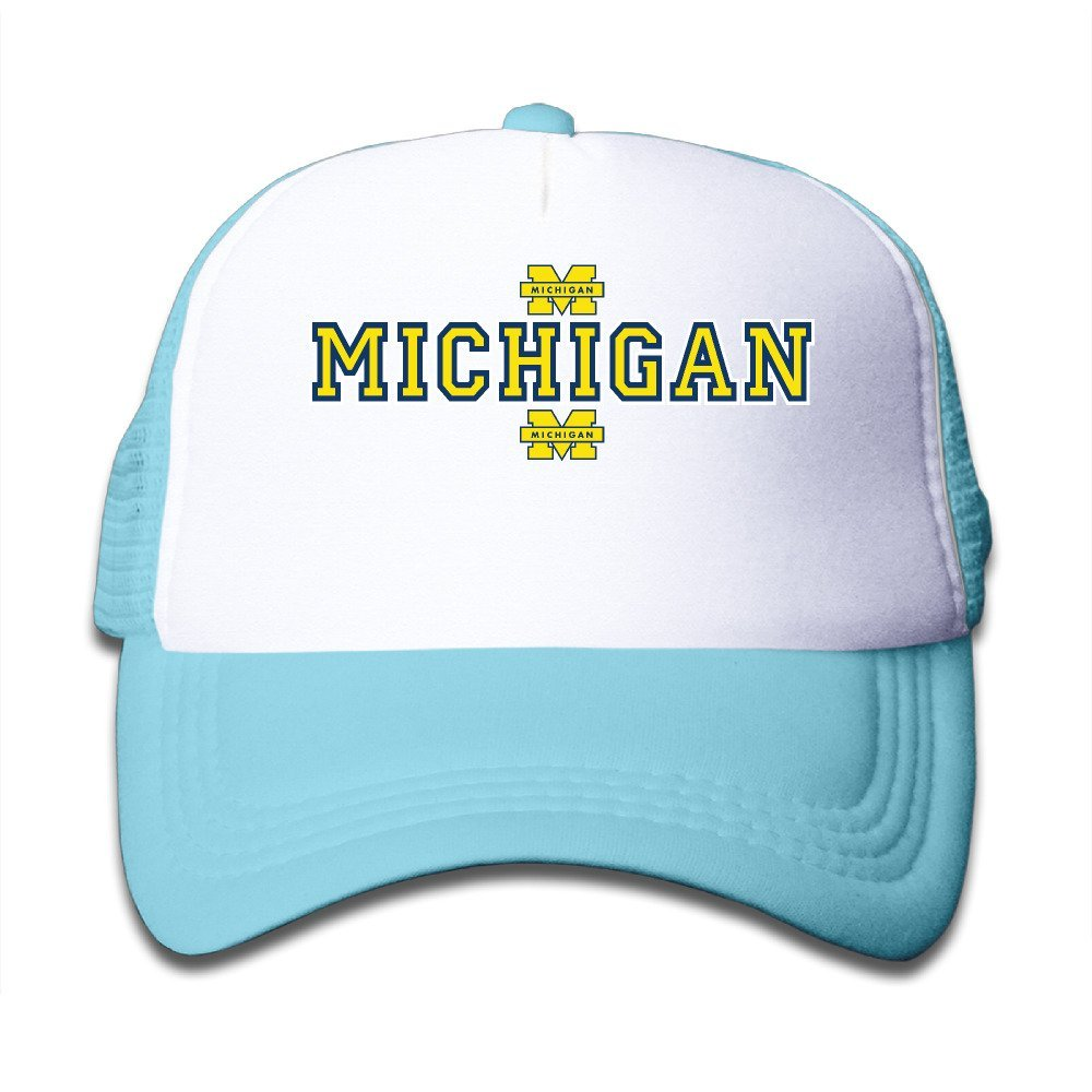 separation shoes 57b72 ef1ad Get Quotations · Aweson Michigan Wolverines Logo 03 Infant Cool Snapback  Black