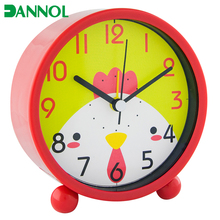 wholesale attractive kids gifts 3inch plastic quartz table alarm clock cheap