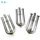 3-Pack Stainless Steel BBQ U Shape torch Burner Tube Pipe Parts Grill Replacement for Outdoor Gourmet