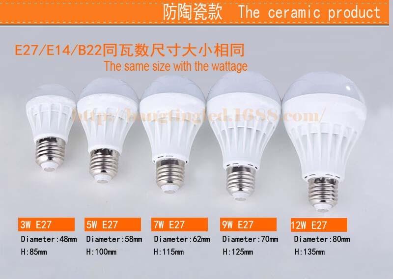 Manufacturing E14 E27 3w 5w 7w 10w 12w 20w Raw Material Filament ...