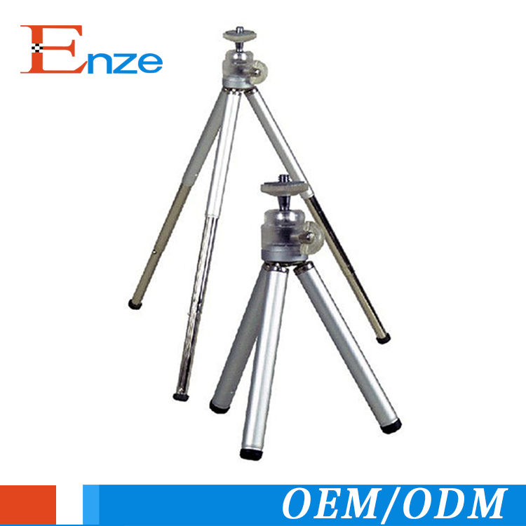 New products portable colorful lightweight mini flexible camera metal telescopic legs stand tripod camera stabilizer