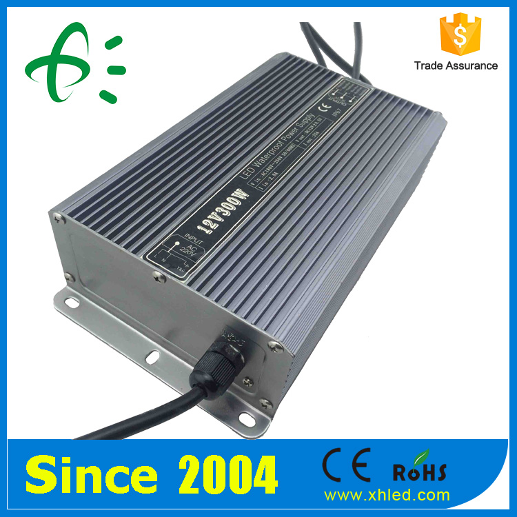 AC to DC Ripple less than 150mV Metal Shell 300W SMPS Power Supply 12V