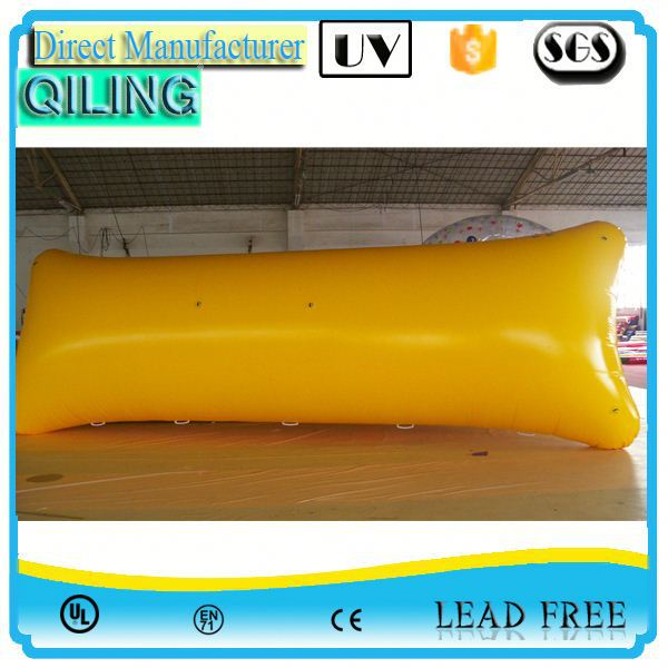 Hot selling sport toy inflatable water launch pad imported
