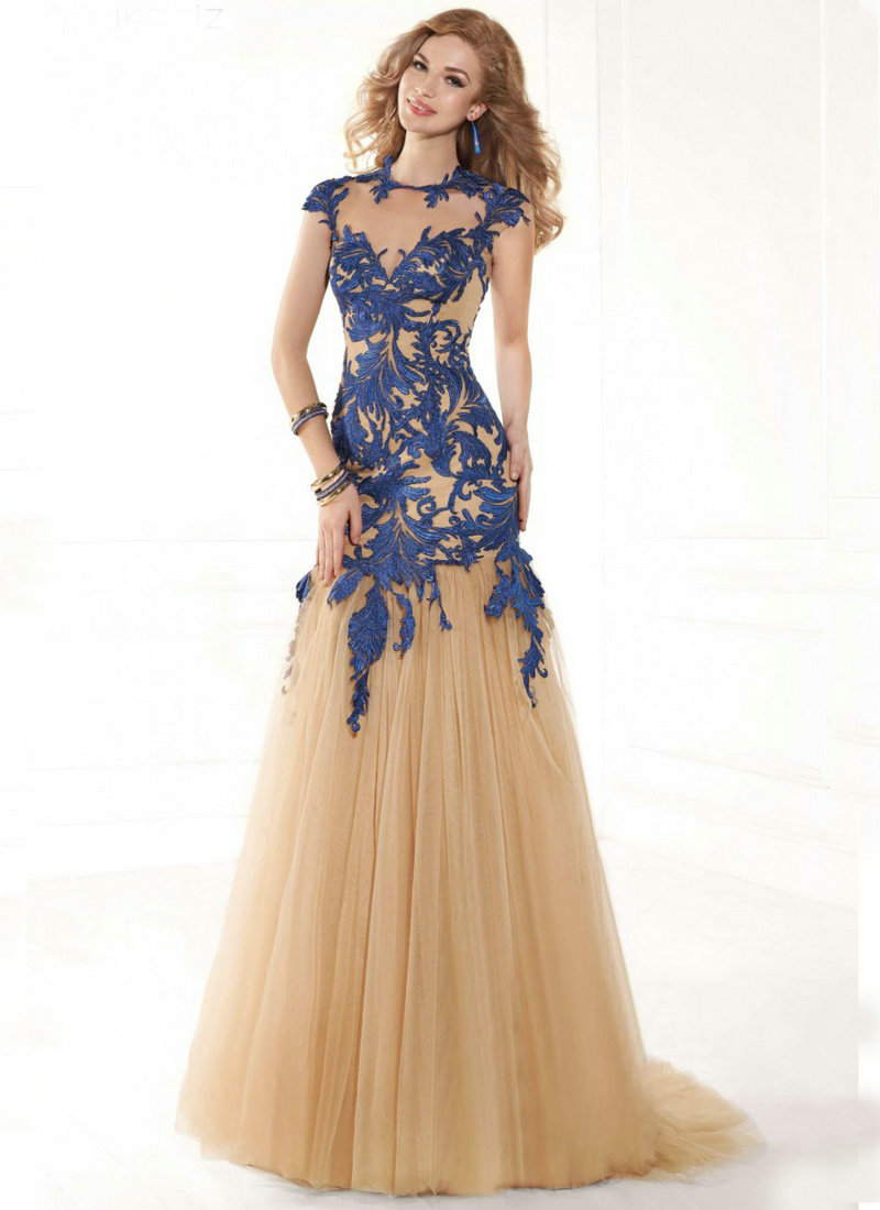 bf8fb593e60 Buy Champagne Party Dresses Long Dress 2015 Mermaid Evening Dresses Online  Shopping Sleeveless Prom Evening Dress Lace in Cheap Price on m.alibaba.com