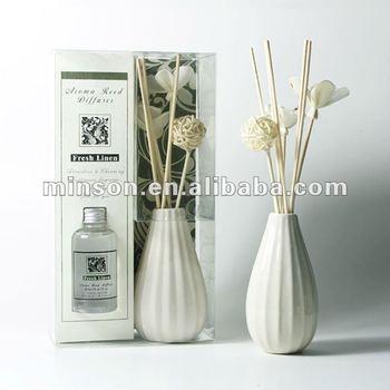 Flower Vaseceramic Vase Aroma Reed Diffuser Buy Reed Diffuser
