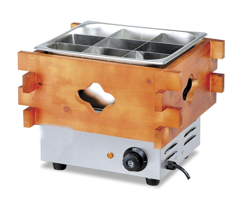 Commercial 304 stainless steel electric donut fryer