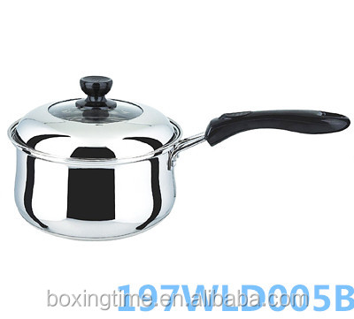 Kitchen Utensil double bottom stainless steel health milk pot for home cooking