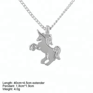 unicorn pendant 925 sterling silver jewelry pendant necklace for women