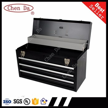 New Design Metal Portable Tool Box, Suitcase For Tool Storage With Drawers