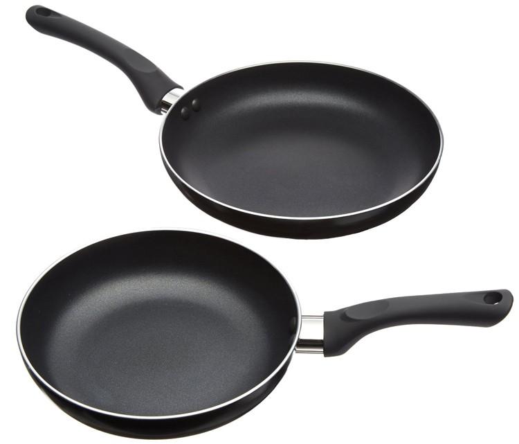 Family Using Electric Frying Pan