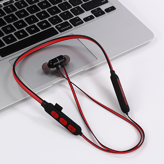 Kadun BT-<strong>V1</strong> blue tooth wireless Sport neckband Earphones Headphones with <strong>TF</strong> SD memory card play music function