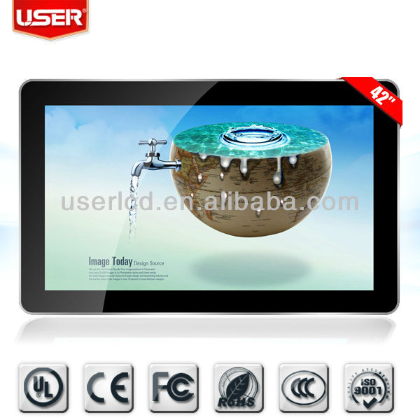 Iphone design lcd table monitor touch with Android system