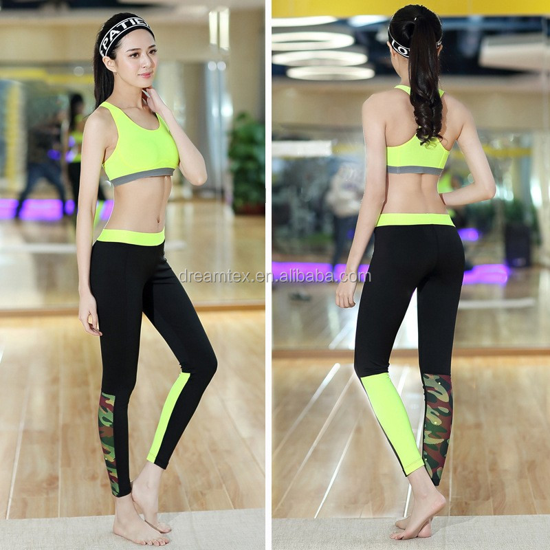High quality custom women gym sports pajama fitness yoga pants