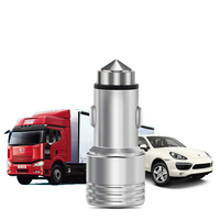 new arrival mini universal aluminium alloy portable mobile smart phone 2 dual usb car charger for smart phone