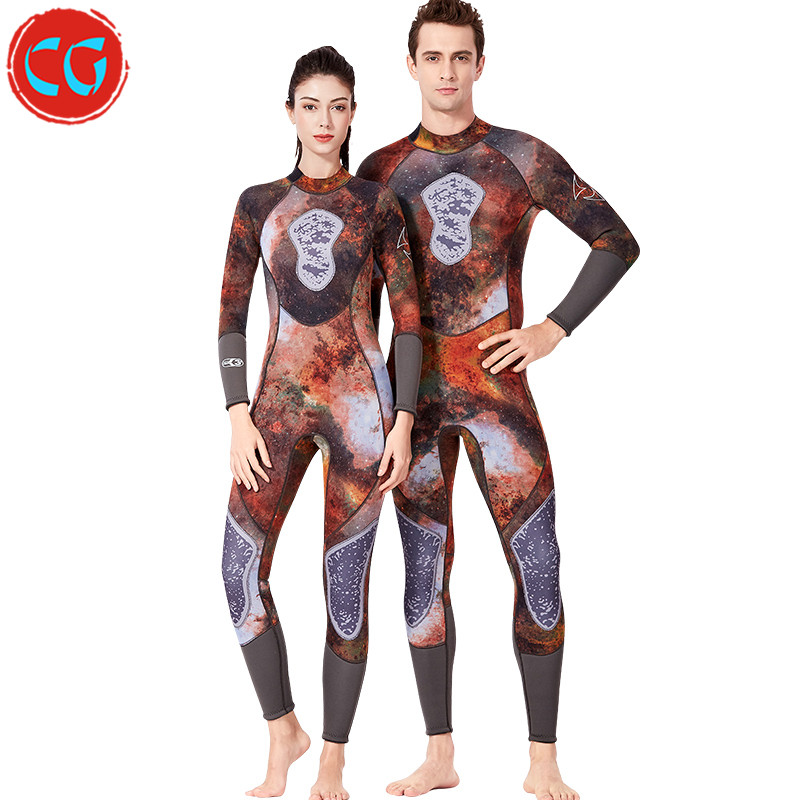 hot sale spearfishing wetsuit 3mm Diving Suit Full Suit Long Sleeve Surfing Suit Keep Warm diving dry suits for Men