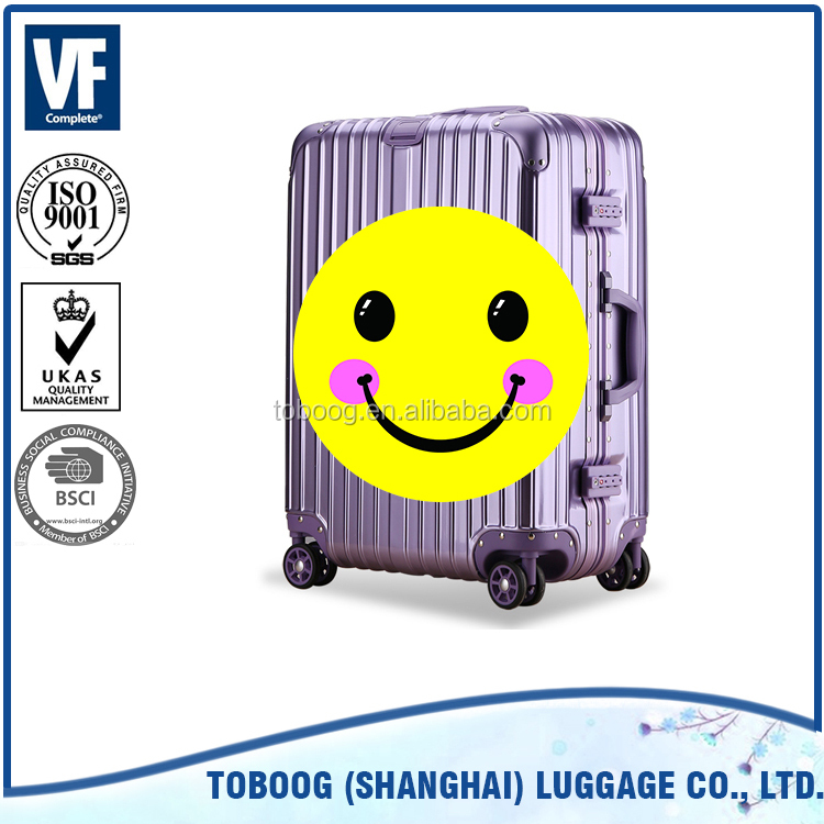 Wholesale new design high quality ABS travel luggage bags cases