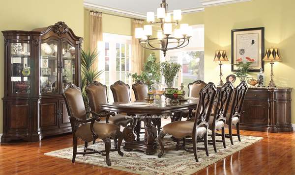 Dining Room Dining Chairs Leather Inch Wide Table High End ...
