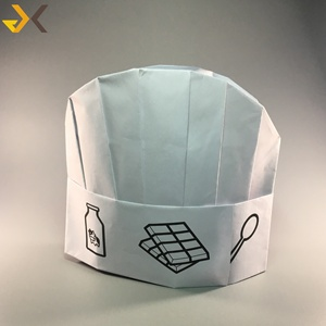 food service cook's cap paper chef hat