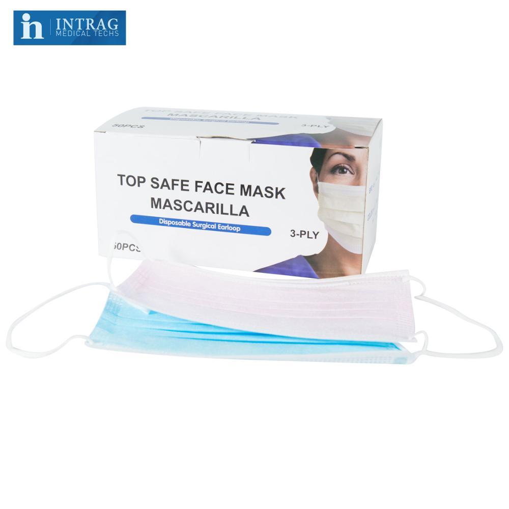 disposable earloop face masks
