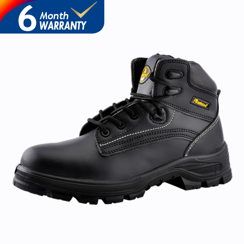 Leather Safety Boots Fashion Water Proof Safety Shoes for Men Steel Toe Boots