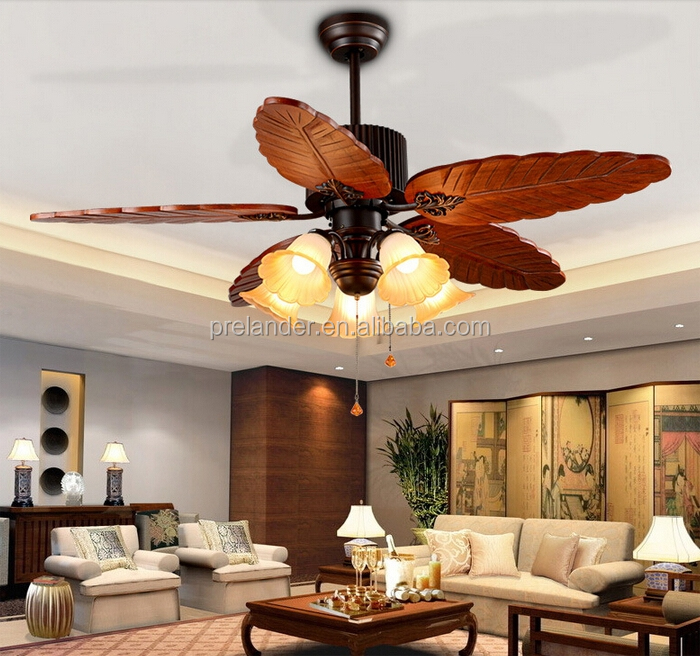 Pull Chain Switch On/off Ceiling fans for Home Lighting cooling 3 speed Fans with Remote