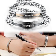 Couple new stainless steel mens bangle love bracelets fashion jewelry manufacturer