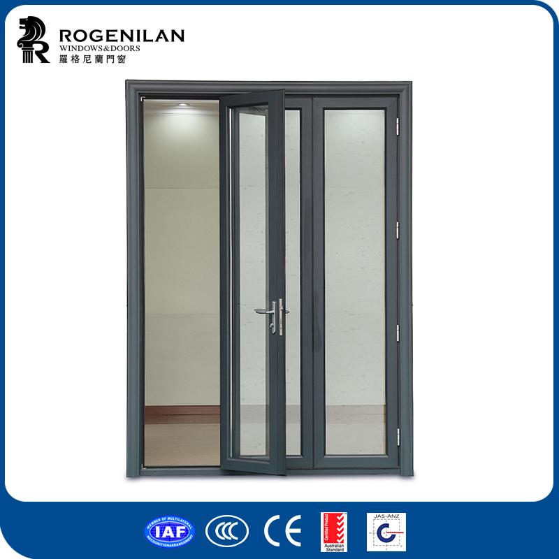 rogenilan nmeros de puertas interiores de las puertas de vidrio del panel de aluminio para puertas puertas de correderas