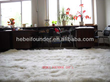 Real Mongolian fur rugs