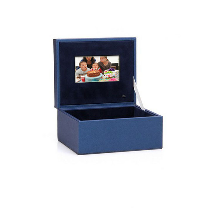 OEMODM customized 4.3 inch LCD digital gift video player brochure card video box