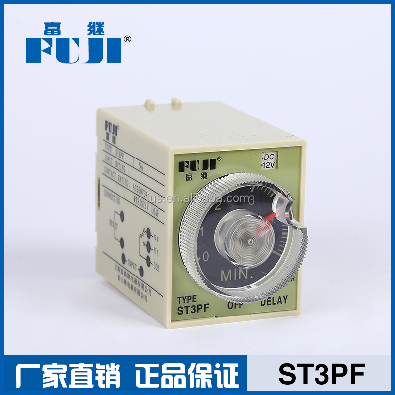 ST3PF Contact Capacity AC 250V 5A Power-off Delay relay timer switch with CE