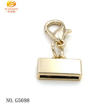 Zinc alloy large lobster collar clasp for key chain
