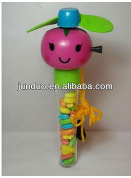 Fruit Image Candy Toy Fan