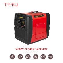 Super Quiet 5000 Running Watts/5500 Starting Watts Gas Powered Inverter Generator with CARB Compliant