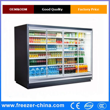 Best quality competitive price useful glass door fridge