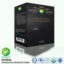 Lifeworth private label best sexual product instant maca extract black coffee for man stronger by 3 days supply