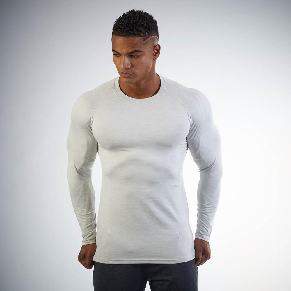 9fa8ef88fff41 95% Cotton 5% Spandex Gym Wear Workout T Shirts Men Long Sleeve T Shirt For  People - Buy 95 Cotton 5 Spandex Gym Wear Men,Men Long Sleeve T ...